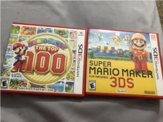MARIO party top 100 /Super Mario Maker para DS, Puerto Rico