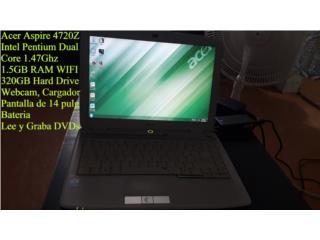 Acer Aspire 4720Z Con Cargador y Bateria, Puerto Rico