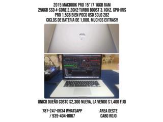2015 Apple Macbook Pro 15