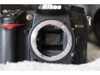 Nikon D7000 Dos lentes y mas, Puerto Rico
