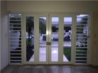 Puertas con ventanas, Puerto Rico