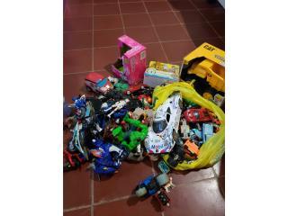 Lote de juguetes, Puerto Rico