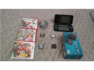 New Nintendo 2ds xl con juegos, Puerto Rico