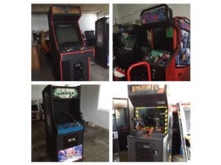 Máquinas y Gabinetes Arcade, Puerto Rico