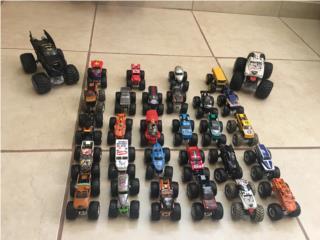 Monster Jam - Coleccion 30 carros, Puerto Rico