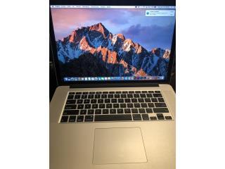 MacBook Pro 15inch retina i7 Photoshop,finalc, Puerto Rico