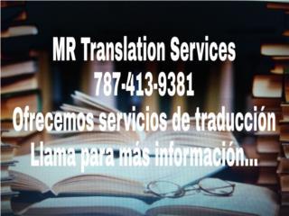 Servicios de Traducción, Puerto Rico