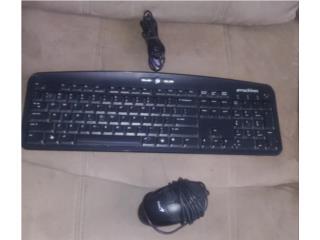 Teclado y mouse para computagora KB-0705, Puerto Rico