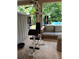 Equipo de pesa sin pesas, Puerto Rico