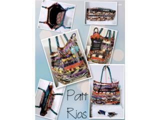 Animal Print Leather Handbag, Puerto Rico