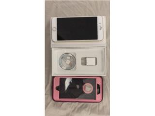 Iphone 7 Plus 256GB ORO de CLARO COMO NUEVO, Puerto Rico