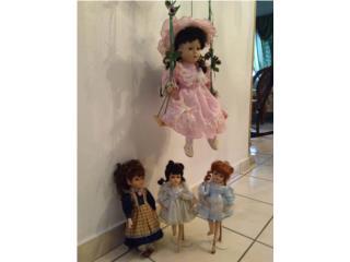 Muñecas en porcelana.4 x 25.00, Puerto Rico