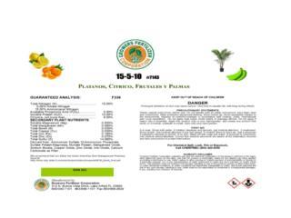 Fertilizante Granular 3 Lb, Puerto Rico