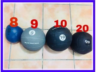 Set de Bolas medicinales Marca Gold Gym , Puerto Rico