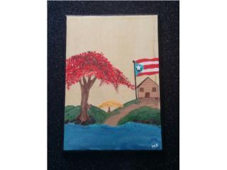 Pintado a mano, Puerto Rico