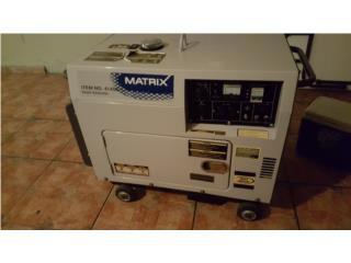 Generador Diesel Matrix, Puerto Rico
