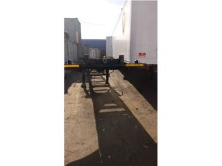 Chassis Trailer Container Vagon, Puerto Rico