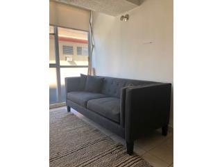 Sofa Gris - Como Nuevo, Puerto Rico
