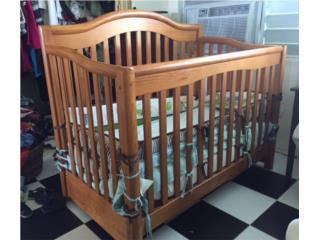 Cuna de bebe (madera solida)., Puerto Rico