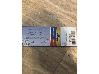 Marc Anthony Ticket, Puerto Rico