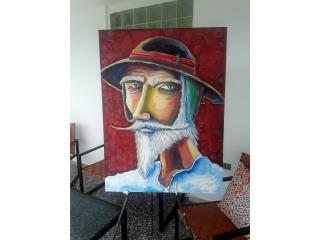 Quijote 30x40 por Troy0619 Original, Puerto Rico