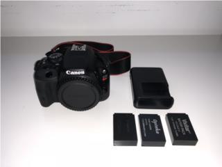 Canon EOS Rebel SL1, Puerto Rico