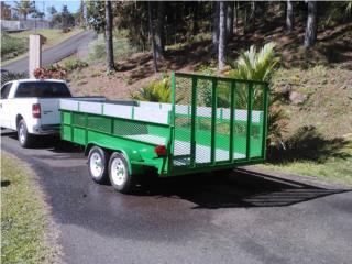 Carreton multiusos 6x12, Puerto Rico