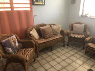 Muebles de patio o Studio en Rattan, Puerto Rico