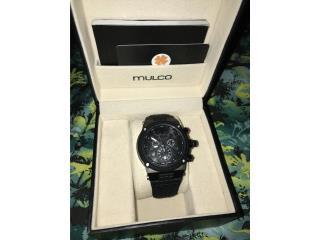 Reloj Mulco negro, Puerto Rico