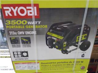 Ryobi 3500 generador new, Puerto Rico