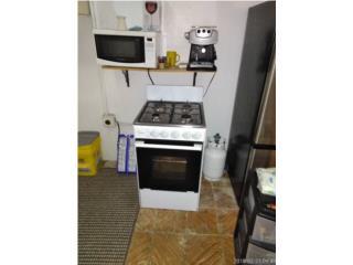 Estufa con cilindro d gas horno microondas , Puerto Rico