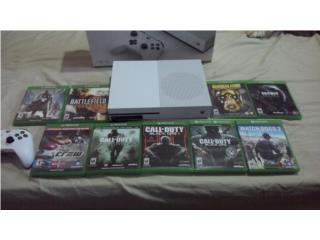 280 $ Xbox S 1T 8 juegos anasco 7874458644, Puerto Rico
