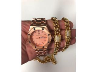 Combo de reloj cadena y pulsera , Puerto Rico