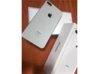 iPhone 8 plus T-MOBILE 64gb en ley, Puerto Rico