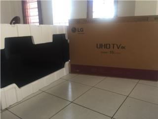 "LG UHDTV 4K 55"" NUEVO, Puerto Rico"