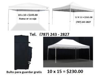 CARPAS 10 X 10; 12 X 12 y 10 X 15 NUEVAS , Puerto Rico