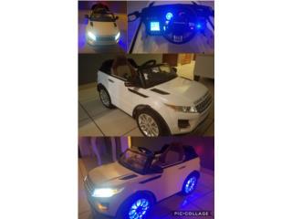 Carro de bateria para niños, Puerto Rico