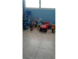 Bicicletas variedad, Puerto Rico