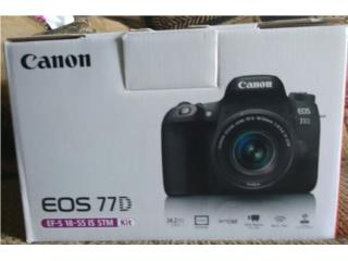 Canon EOS 77D 24.2MP SLR Camera - NEGRA, Puerto Rico