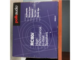 Bocina Polk Audio RC80i para techo or paredes, Puerto Rico