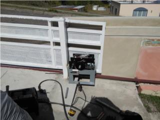 Montura de puertas y portones eléctricos, Puerto Rico