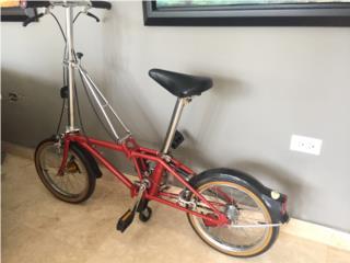 Bicicleta antigua DAHON, Puerto Rico