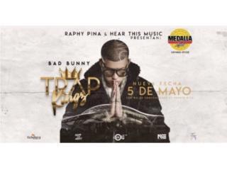 Bad Bunny Concierto Trap Kingz 2 Taquillas!! , Puerto Rico