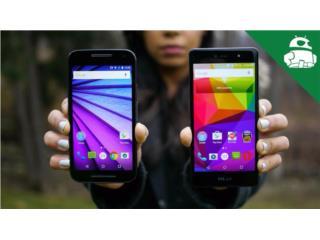 Celulares Android BLU y LG Nuevos Unlock, Puerto Rico