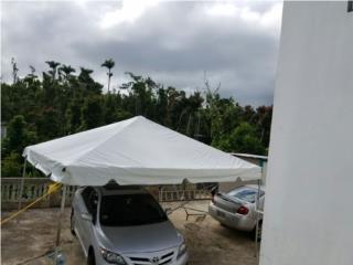 Carpa blanca 4 aguas  para eventos 15x, Puerto Rico