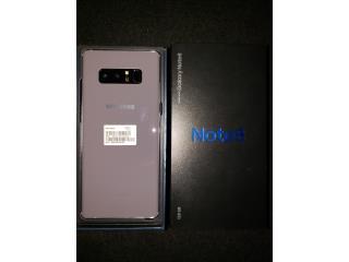 Samsung Galaxy Note 8 Orchid Gray 128gb CLARO, Puerto Rico