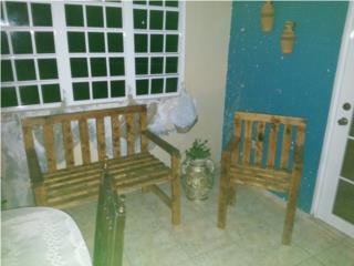 Muebles de balcon 6 piesas CUSTOM, Puerto Rico