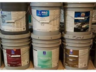Sólo shewin willians muchos productos, Puerto Rico