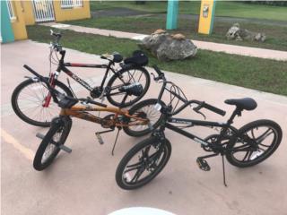 3 bicicletas ,2  moongose y 1  schwinn , Puerto Rico