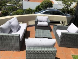 Muebles de jardín 6 piezas , Puerto Rico